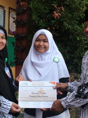Huorabel Mention Olimpiade B. Indonesia